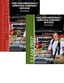 Fire and Emergency Services Company Officer, 6th Edition Manual and Exam Prep