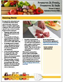 Preserve It Fresh, Preserve It Safe: 2021, No. 5 (September/October)