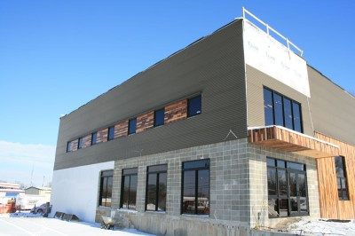 Logboat Brewing building