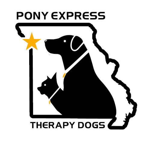 Pony Express Therapy Dogs logo