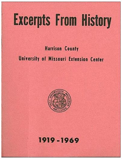 Excepts From History cover.