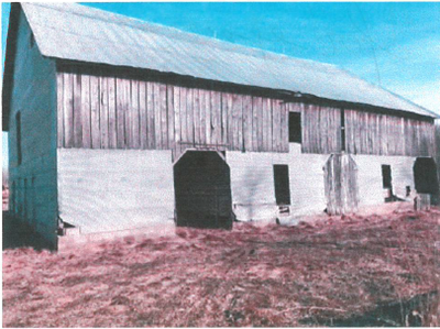 Barn that was built about 110 years ago on Kremer Farm