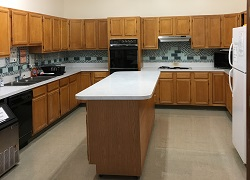 Kitchen in the large meeting room