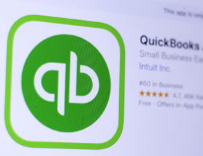 quick books accounting app icon