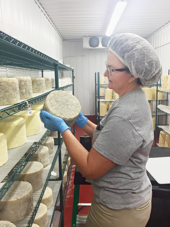 Edgewood Creamery makes cheese and sells dairy and locally grown products at the creamery, off-site and online.