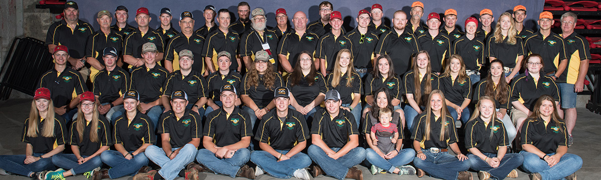 2019 State 4-H Shooting Team group photo