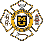 The MU Fire and Rescue Training Institute's emblem, with the traditional fire service Maltese cross and the lamp of knowledge, symbolizes the primacy of education in the delivery of fire and emergency services.