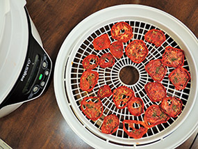 Dehydrated tomato slices, used with permission from Colorado State University