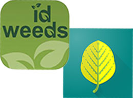 ID Weeds and Herbicide Injury ID app icons
