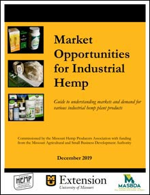 Front cover of the report Market Opportunities for Industrial Hemp