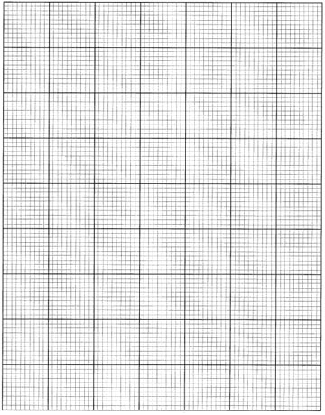 Graph paper for homesite map