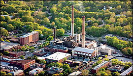 MU's combined heat and power plant