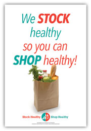 We stock healthy sign